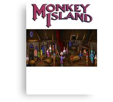 Monkey island  Canvas Print