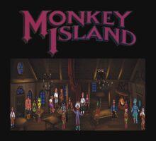 Monkey island  by CavedIn