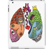 Stupid Lookin' Lungs iPad Case/Skin
