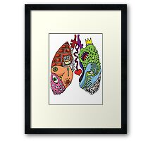 Stupid Lookin' Lungs Framed Print