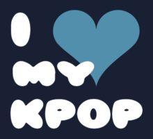 I LOVE MY KPOP - Purple One Piece - Long Sleeve
