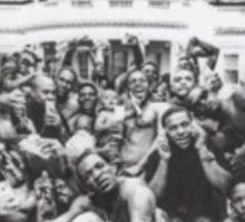 Kendrick Lamar To Pimp a Butterfly Album Sticker