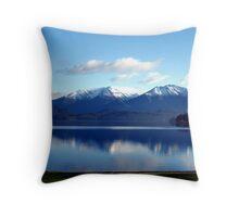 Lake Te Anau 2 Throw Pillow