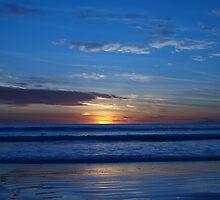Blue Sunset - Cable Beach by Richard Cassar