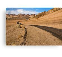 Death Valley Road Canvas Print