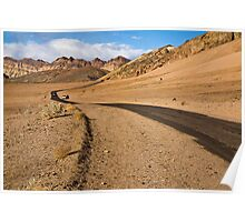 Death Valley Road Poster