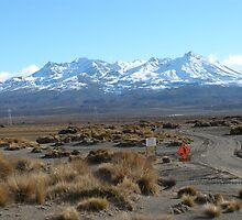 Mount Ruapehu, New Zealand  by SamanthaT