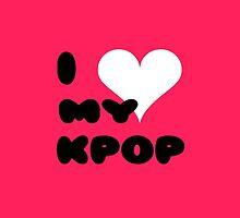 I LOVE MY KPOP - pink by Kpop Seoul Shop