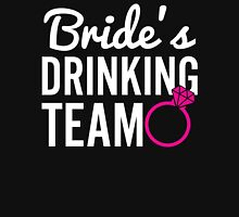 Bride's Drinking Team Womens Fitted T-Shirt