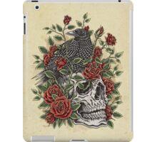 Floral Skull iPad Case/Skin