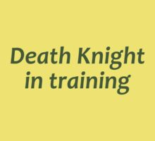 Death Knight In Training - World of Warcraft WOW Kids Clothes