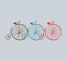 Penny Farthing Old School Bike by beerhamster