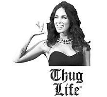 Megan_Thug_Life Photographic Print