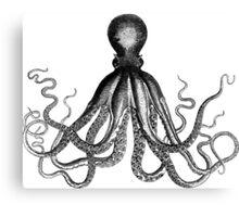 Retro Octopus Canvas Print