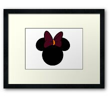 VT Minnie Mouse Framed Print
