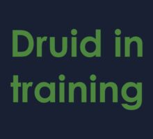 Druid in Training - World of Warcraft - WoW Kids Clothes