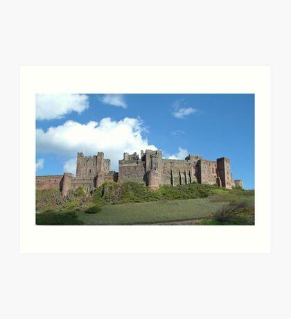 Bamburgh Castle Art Print