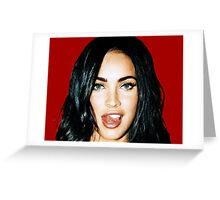 Megan_Tongue Greeting Card