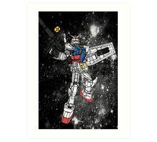Fly, Gundam! Art Print