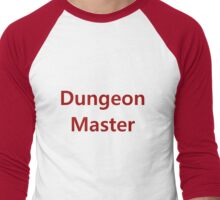 Dungeon Master Men's Baseball ¾ T-Shirt