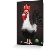 Cock and Balls Greeting Card