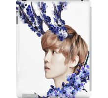 Blossoms Blue iPad Case/Skin