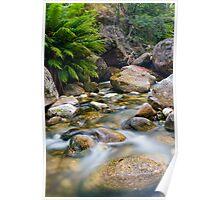 Eurobin Creek cascades 3 Poster