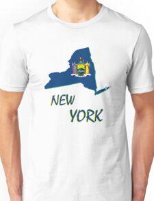 new york state flag Unisex T-Shirt