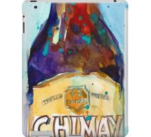 Chimay Triple - Authentic Trappist Beer Belgian Beer iPad Case/Skin