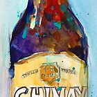 Chimay Triple - Authentic Trappist Beer Belgian Beer by Dorrie  Rifkin