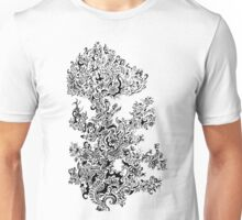 Trippy flower pattern Unisex T-Shirt