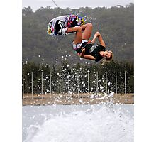 Shelby Kantar (Pro Wakeboarder) Photographic Print