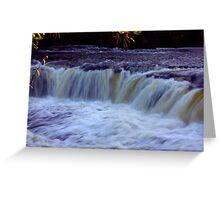 Aysgarth Falls #4 Greeting Card