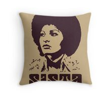 Sister Sista Throw Pillow
