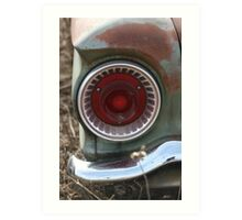 Tail Light Art Print