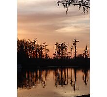 Sunset on Bear Creek Photographic Print
