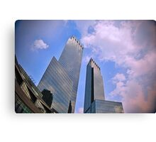 Time Warner Center NYC Canvas Print