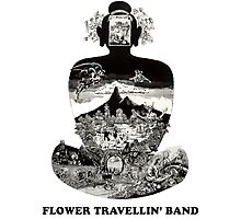 Flower Travellin Band Shirt! Photographic Print