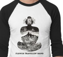 Flower Travellin Band Shirt! Men's Baseball ¾ T-Shirt