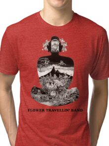 Flower Travellin Band Shirt! Tri-blend T-Shirt