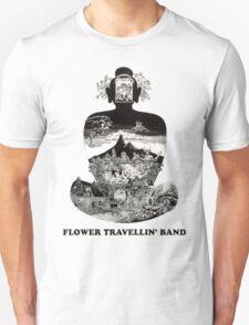 Flower Travellin Band Shirt! Unisex T-Shirt