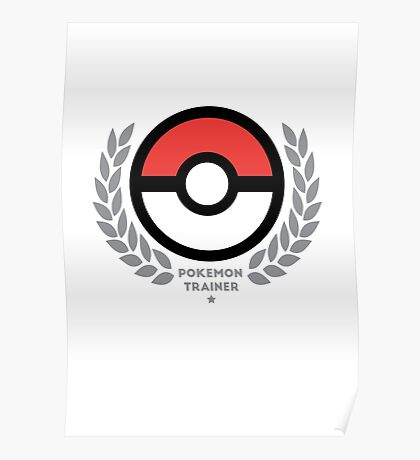 Pokemon Trainer Poster