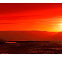 RED SUNSET by Athanassi