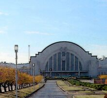 Fall at Union Terminal by Rebeca Pittman