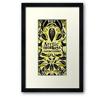 Arctic Monkeys Cornerstone Framed Print
