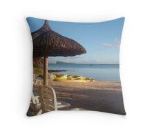 Mauritius Island Throw Pillow