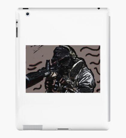 Modern soldier iPad Case/Skin