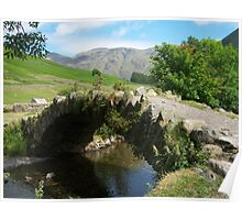 The Lake District: Bridge at Wasdale Head Poster