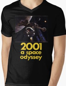 2001 A Space Odyssey Shirt! Mens V-Neck T-Shirt