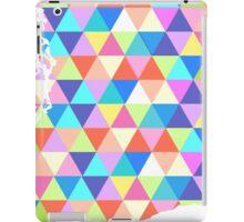 Washington State Colorful Geometric Triangles iPad Case/Skin